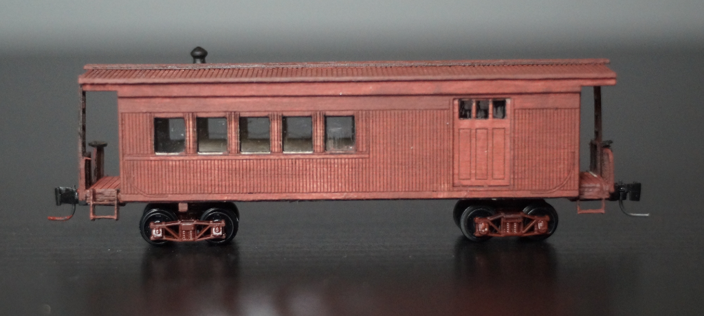 Nn3 Scale Southern Pacific Narrow Gauge Caboose
