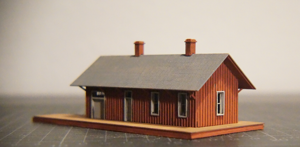 N-Scale Red Mountain Depot