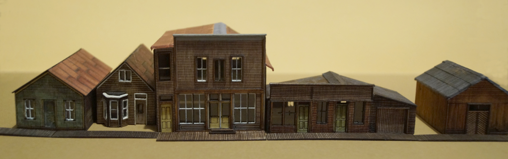 N-Scale St Elmo Ghost Town