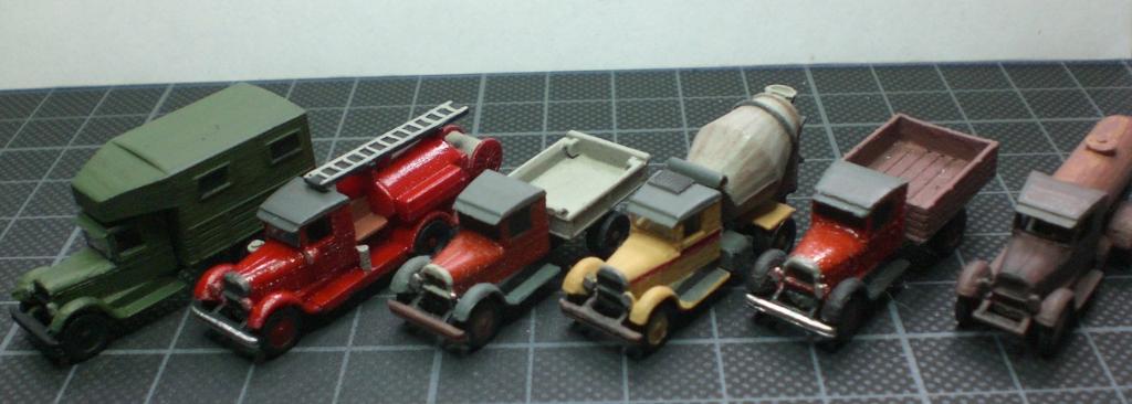 N-Scale Autocar / ZIS 5