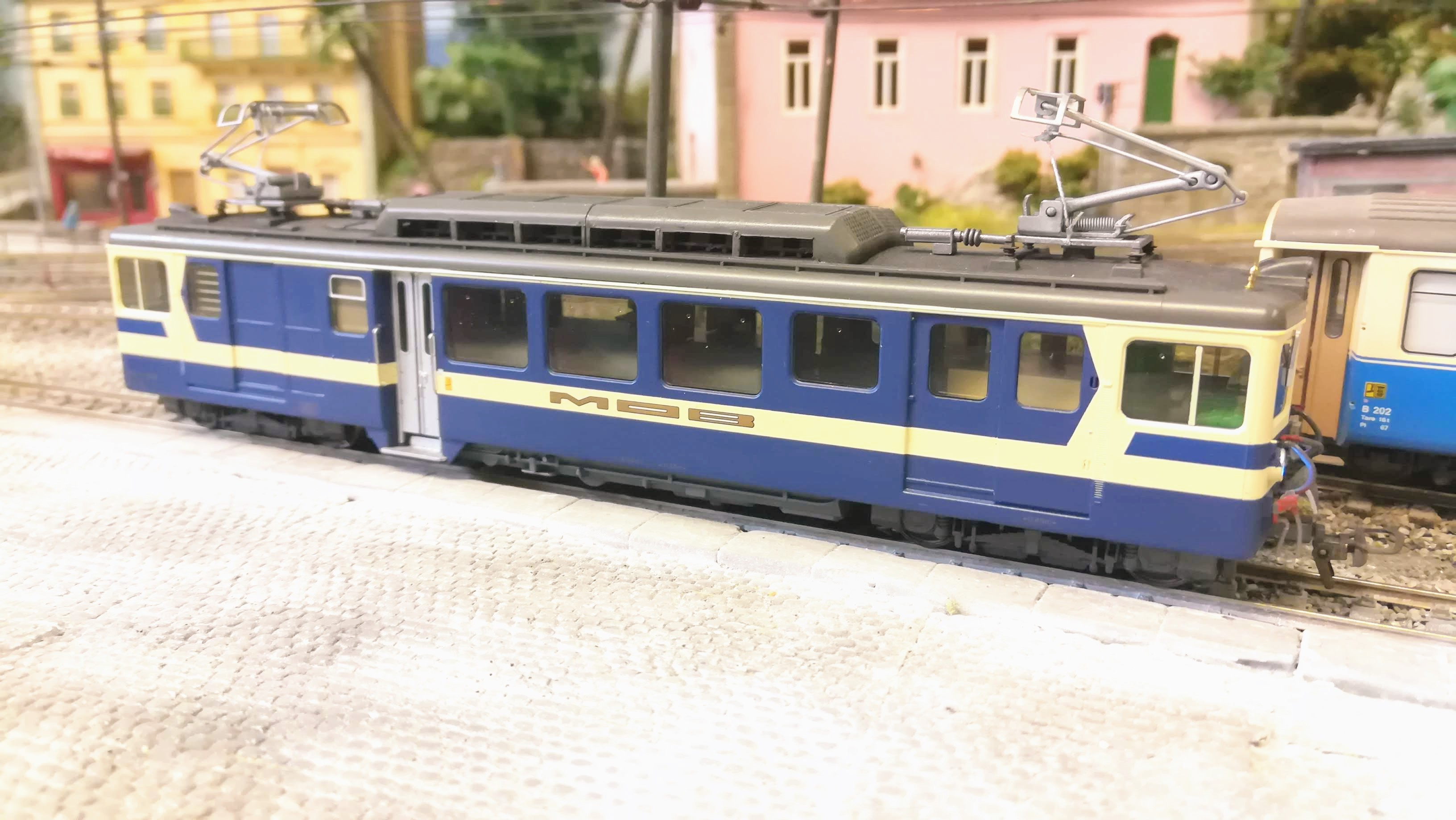 BDe 3005 MOB Bemo H0m modellbahn modellayout train