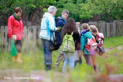 Natur erkunden mit Grundschülern in Wülmersen