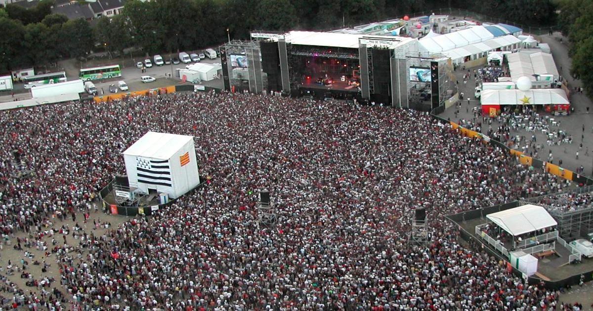 La foule aux Vieilles Charrues