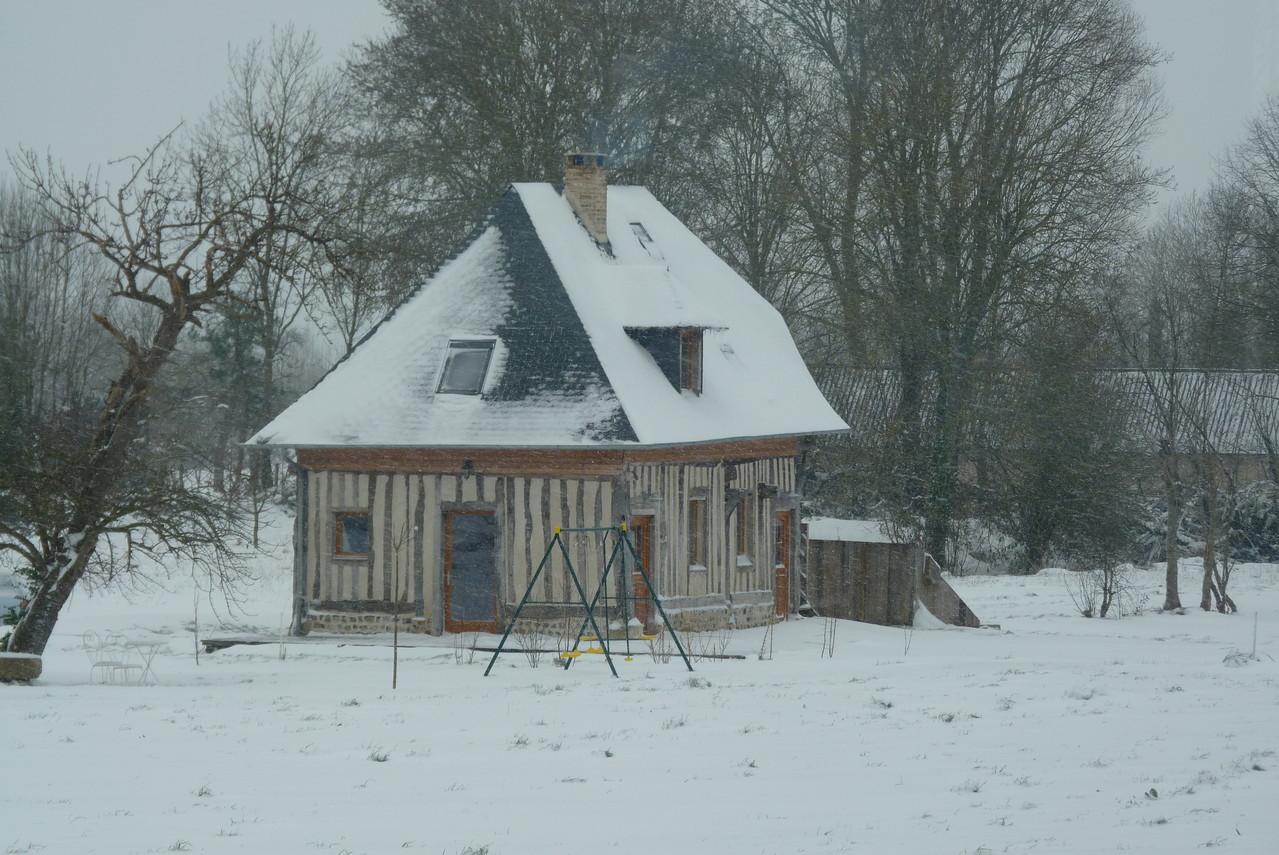 Sous La Garenne - Sous la neige