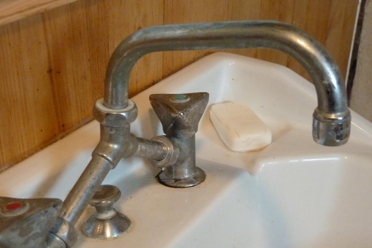 Détail Salle de bain à l'étage