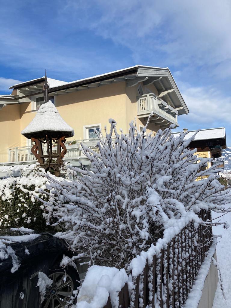 Appartements Lingner in Kaprun in winter