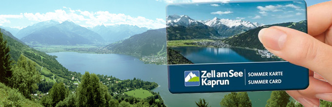 Zell am See Kaprun Karte