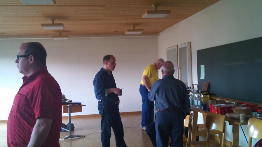 Fredi,Martin, Franz und Walter