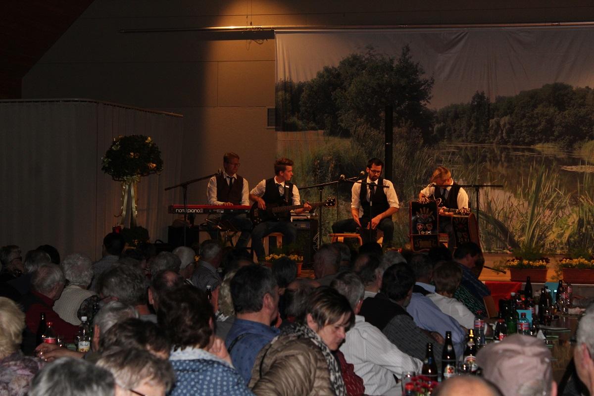 Marc, Alex, Marius, Matthias und Jonas