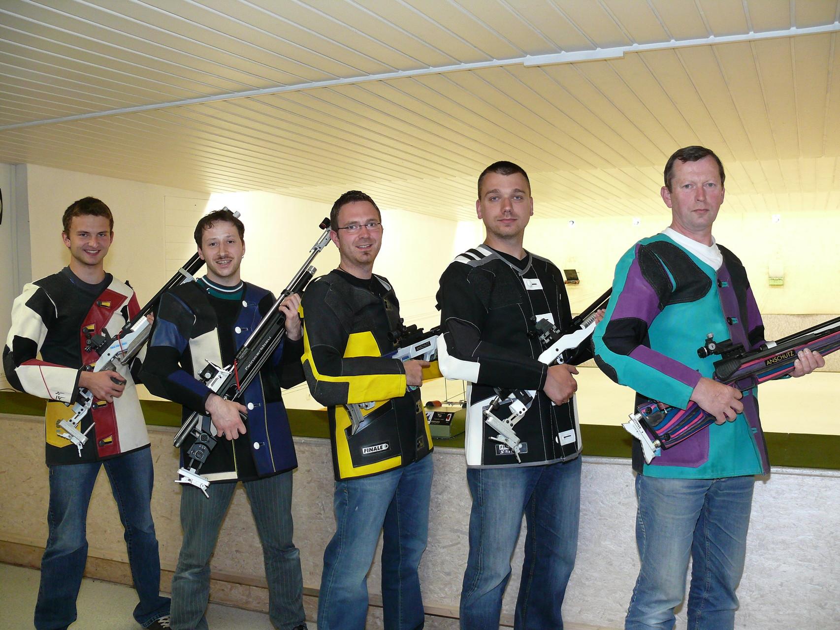 1. Mannschaft LG 2007/2008, Aufsteiger Oberpfalzliga