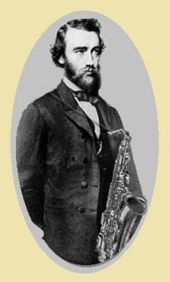 L'inventeur du saxophone, Adolph Sax.