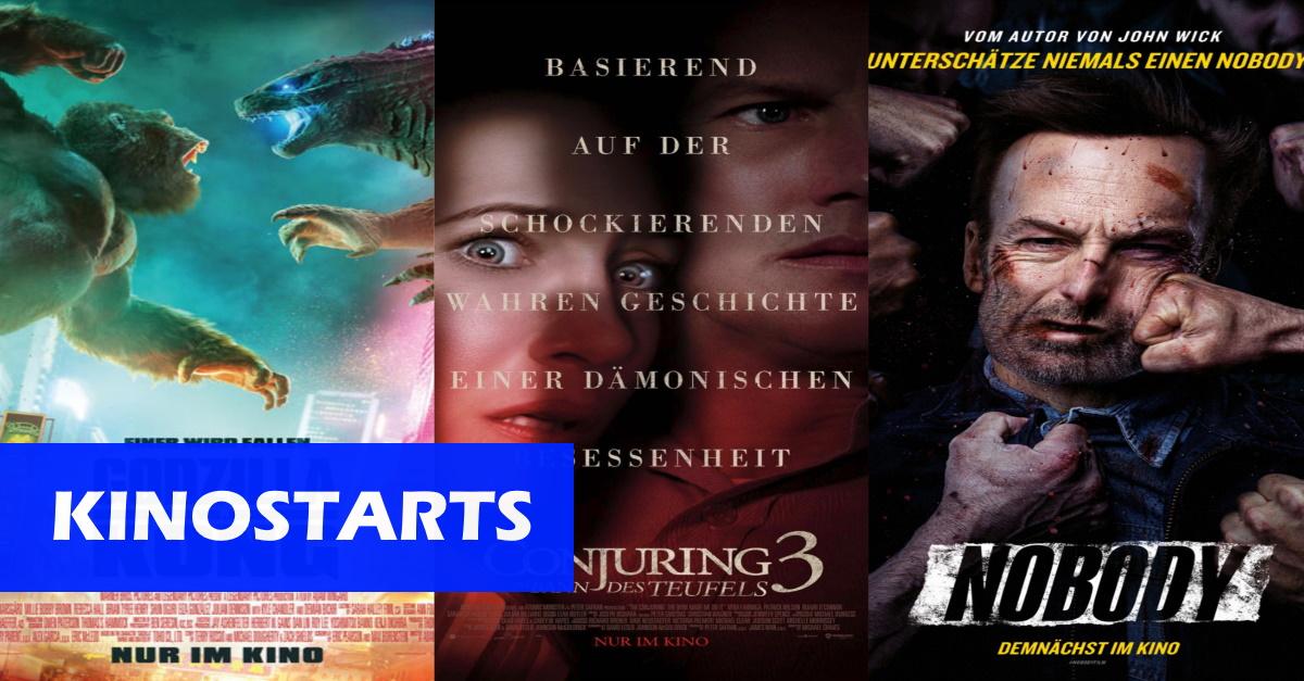 Kinostarts der Woche (1.7.21): Monster-Clash, Warren-Comeback und ein John Wick Abklatsch!
