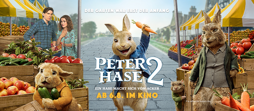 Der Kinostart von Peter Hase 2 wird nach hinten verschoben. | © 2020 Sony Pictures