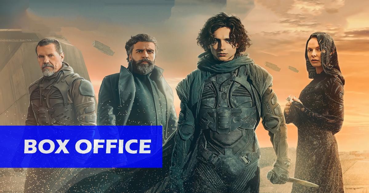 """Erstes Wochenende geglückt: """"Dune"""" übertrifft die Erwartungen bei seinem internationalen Kinostart!"""