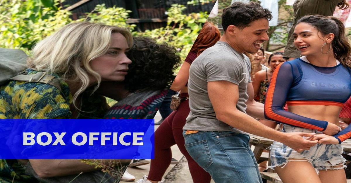 """US-Kinos: """"A Quiet Place 2"""" zurück an der Spitze - """"In The Heights"""" bleibt hinter den Erwartungen!"""