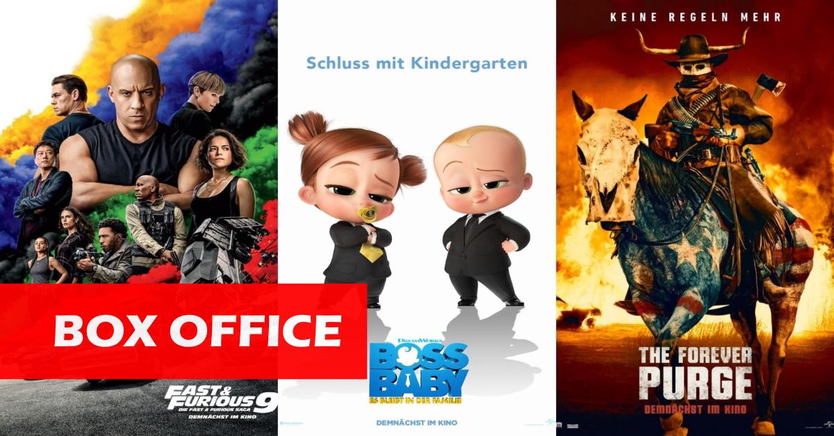 US-Kinos: Die Dreifach-Spitze von Universal!