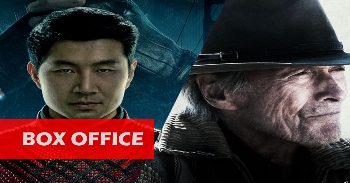 "US-Kinos: ""Shang-Chi"" dritte Woche in Folge Platz 1! ""Cry Macho"" von Clint Eastwood enttäuscht zum Start!"