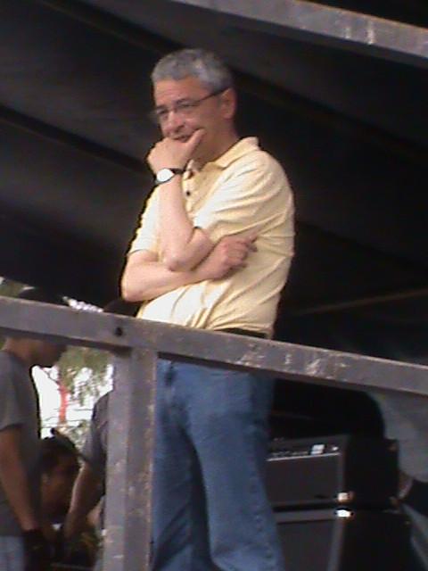 Rector Miguel Angel Solano León