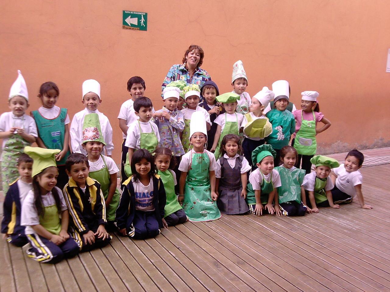 Grupo de chefsitos Grado transición B