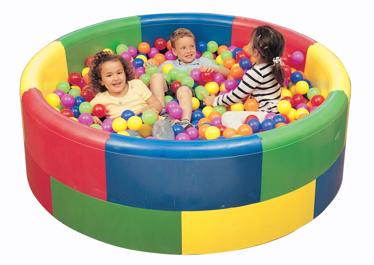 Pavimentos guarder as y zonas infantiles equipamiento for Piscina de bolas amazon