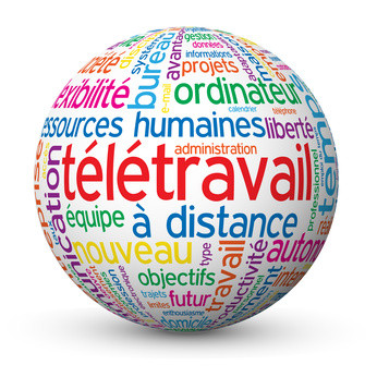 télétravail - secrétariat - ressources humaines