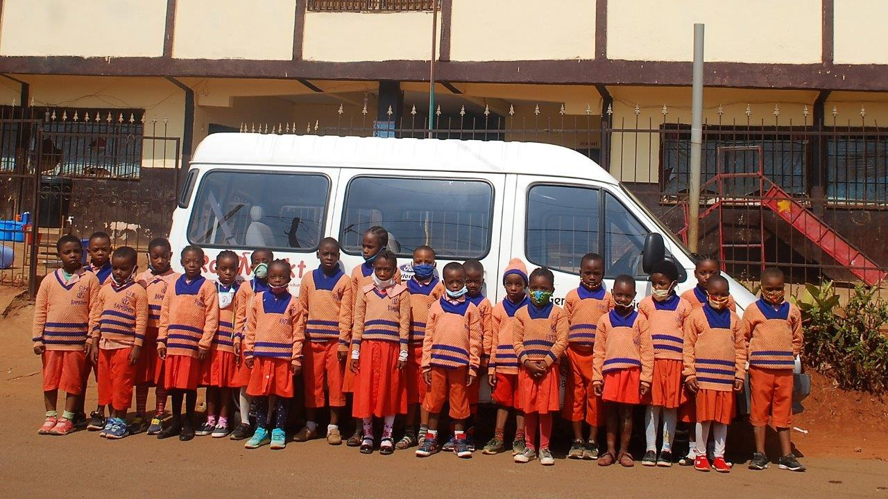 Friedrichstaler Spenden erfreuen Kinder in Kamerun
