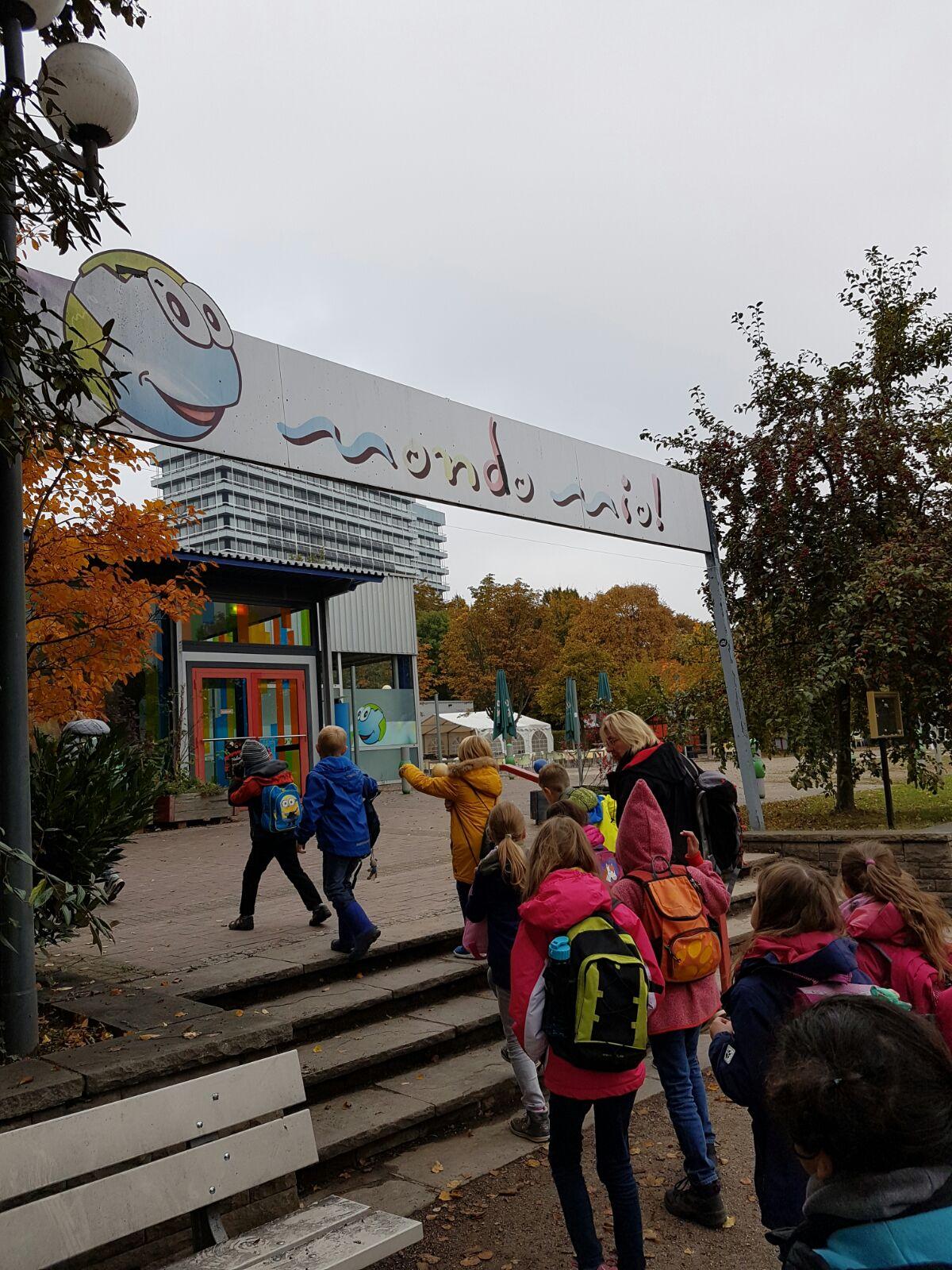 Wir fahren zum Westfalenpark / Mondo Mio zum Thema Kinderrechte