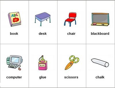Planeaci n de ingl s para los grados primero p gina for 10 objetos en ingles del salon de clases