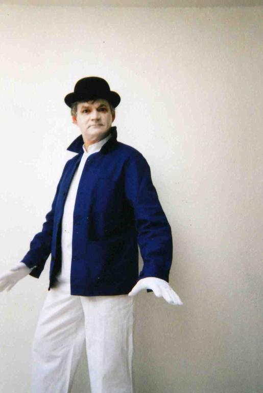 Le mime jp n'a rien à dire