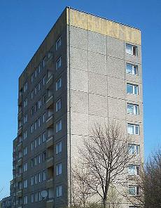 Une barre d'immeuble traitée SLS®20F