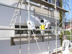 Isolation Façades extérieures Vacupor PS-B2-S sous crépis