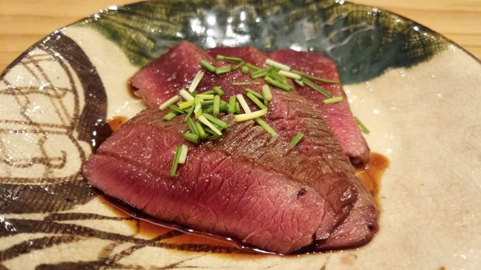 鹿肉タタキ