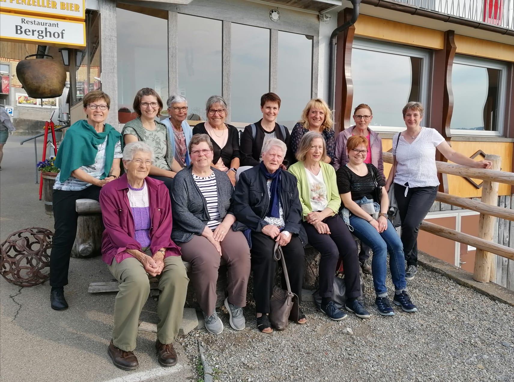13 Frauen nahmen am Ausflug ins Toggenburg teil