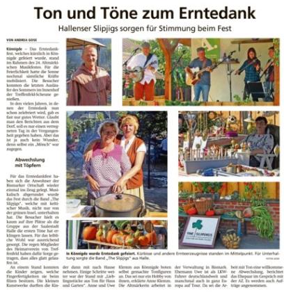 Altmark-Zeitung vom 26.09.2019, von Andrea Gose