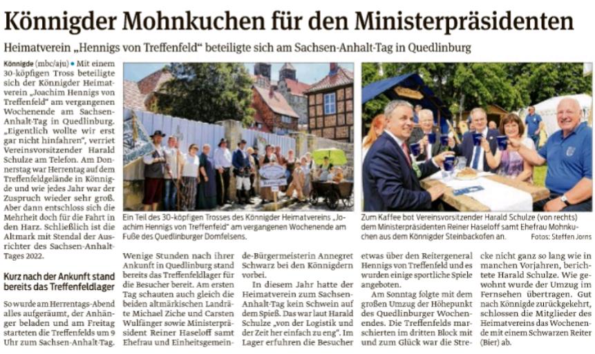 Volksstimme vom 06.06.2019, von Maik Bock und Axel Junker