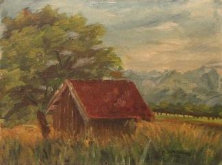 Landschaft im Rheintal