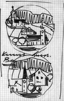 Intarsien Entwurf
