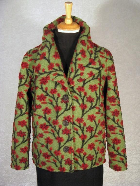Jacke aus Walkloden