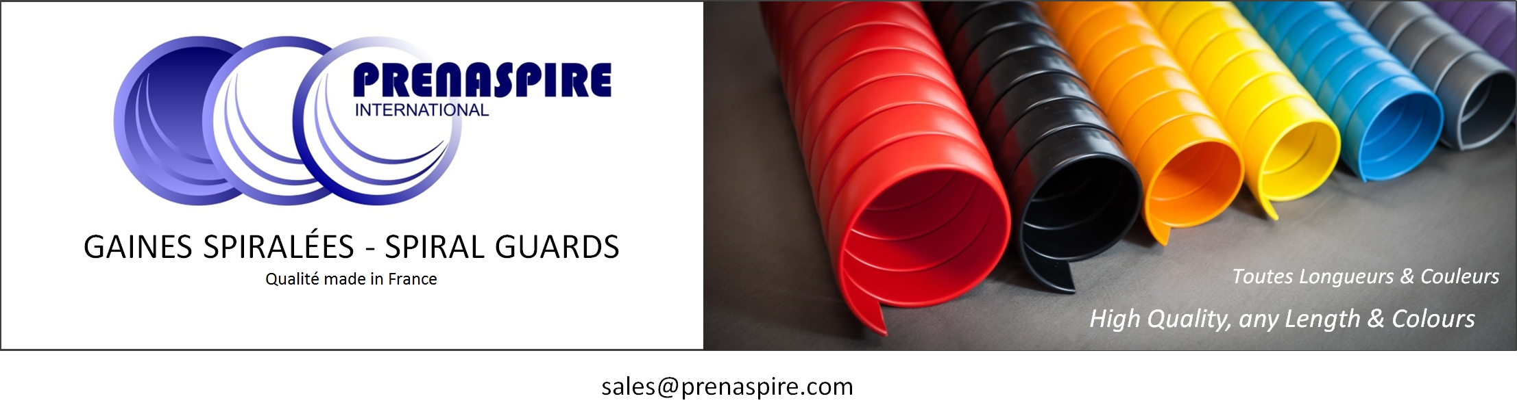 rounded spiral guard prenaspire fabricant manufacturer