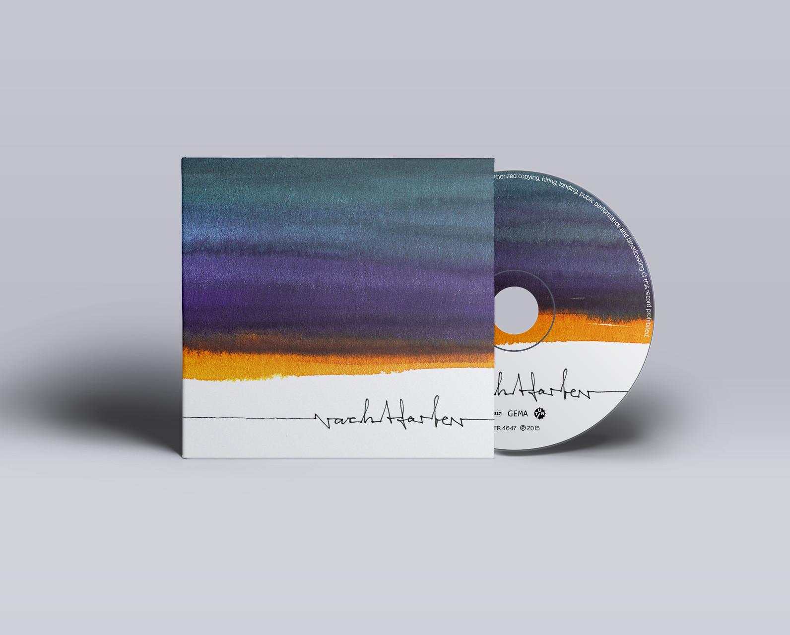 """CD Layout für """"Nachtfarben"""""""