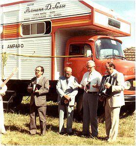 Lastwagen-Einweihung für unsere Zeltevangelisation