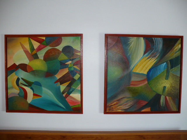 Neue Abstrakte Bilder. New abstract Pictures. Neue abstrakte Bilder. Abstratas pinturas novas. Foto by RDS