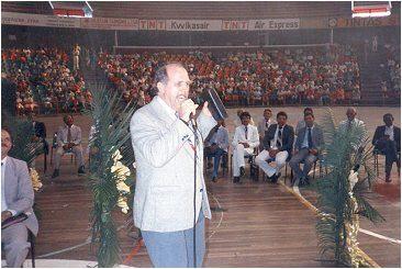 Großevangelisation im Fußballstadion GERALDINHO in Recife