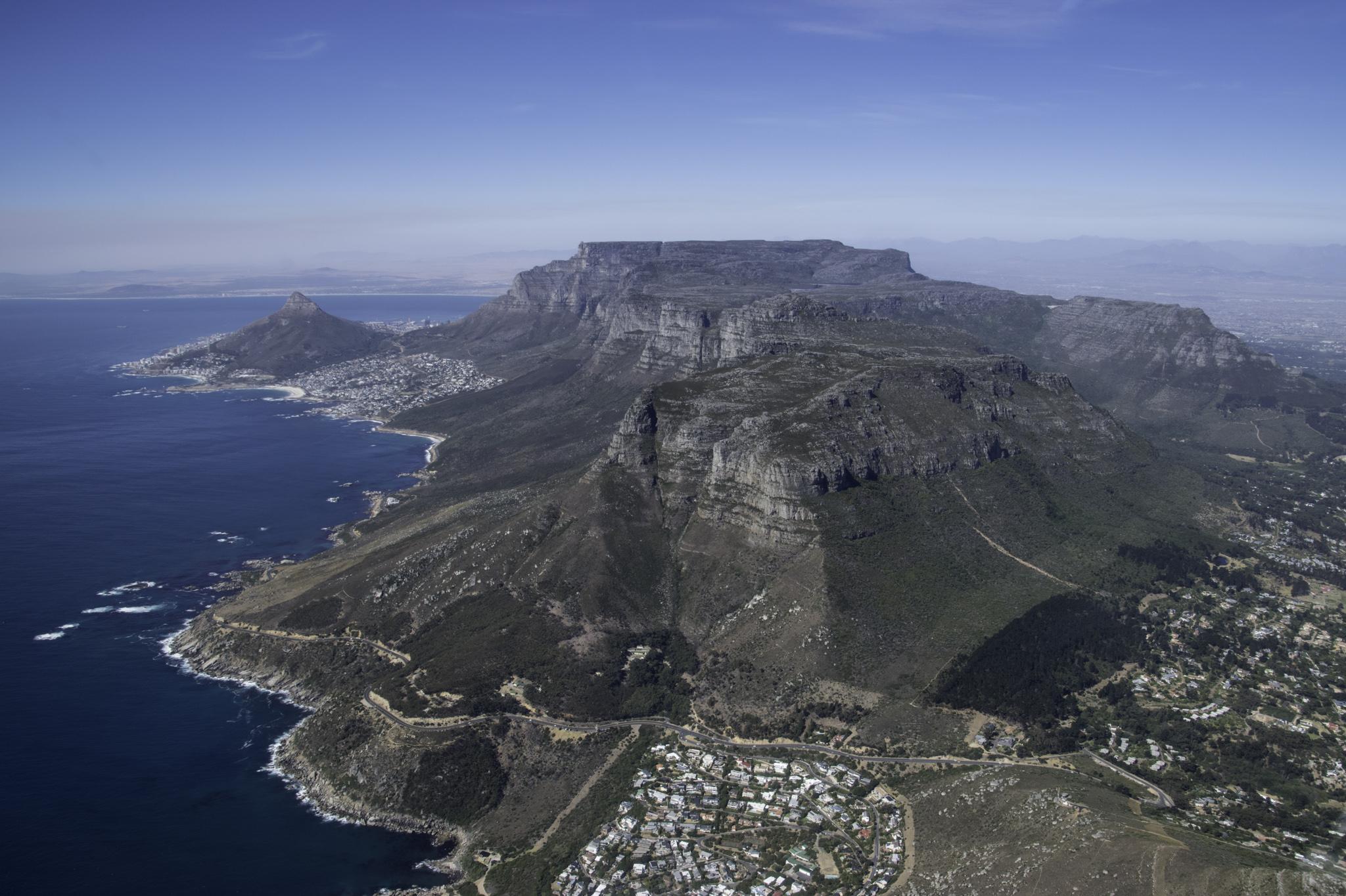 Der Tafelberg aus einer anderen Perspektive