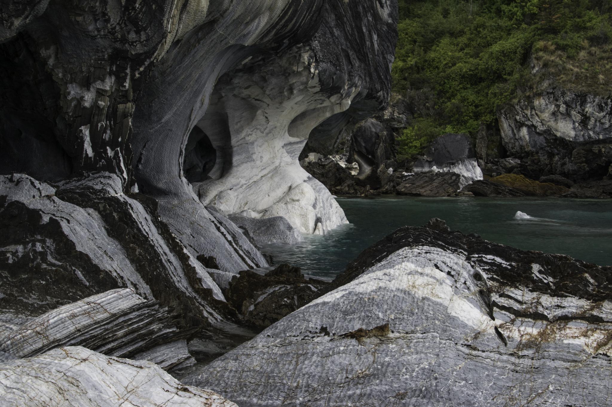 Die Marmorkapellen im zweitgrössten See Südamerikas