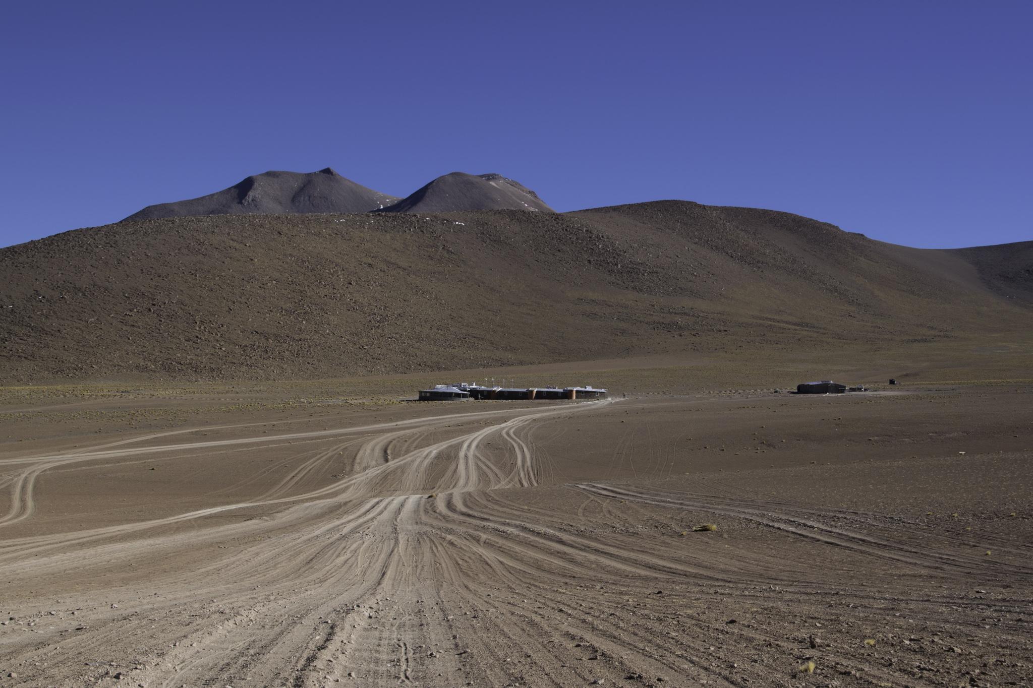 Erholung von der Kälte und den extremen Winden im Hotel del Desierto