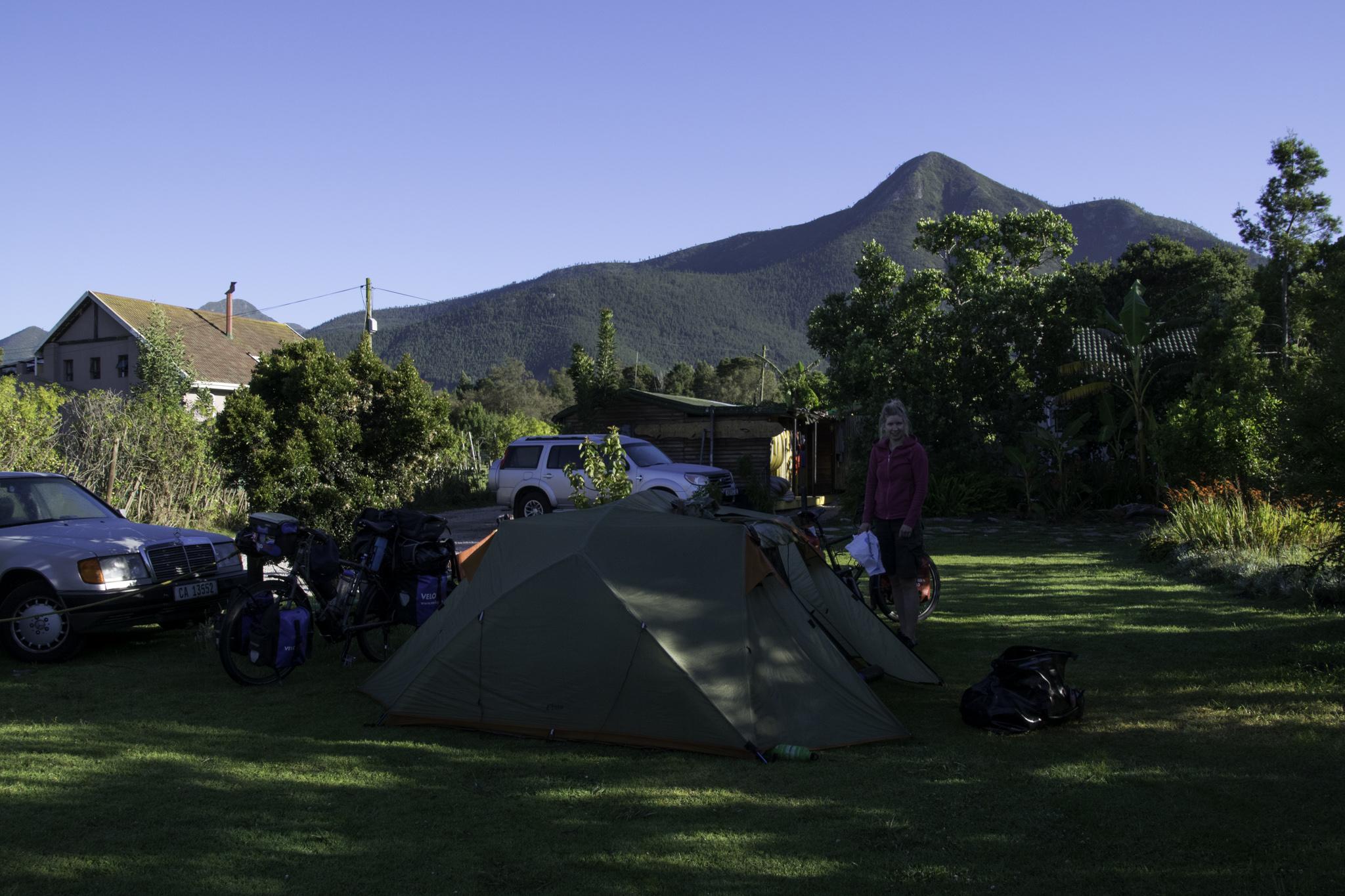 Campingplatz im Tsitsikamma-NP