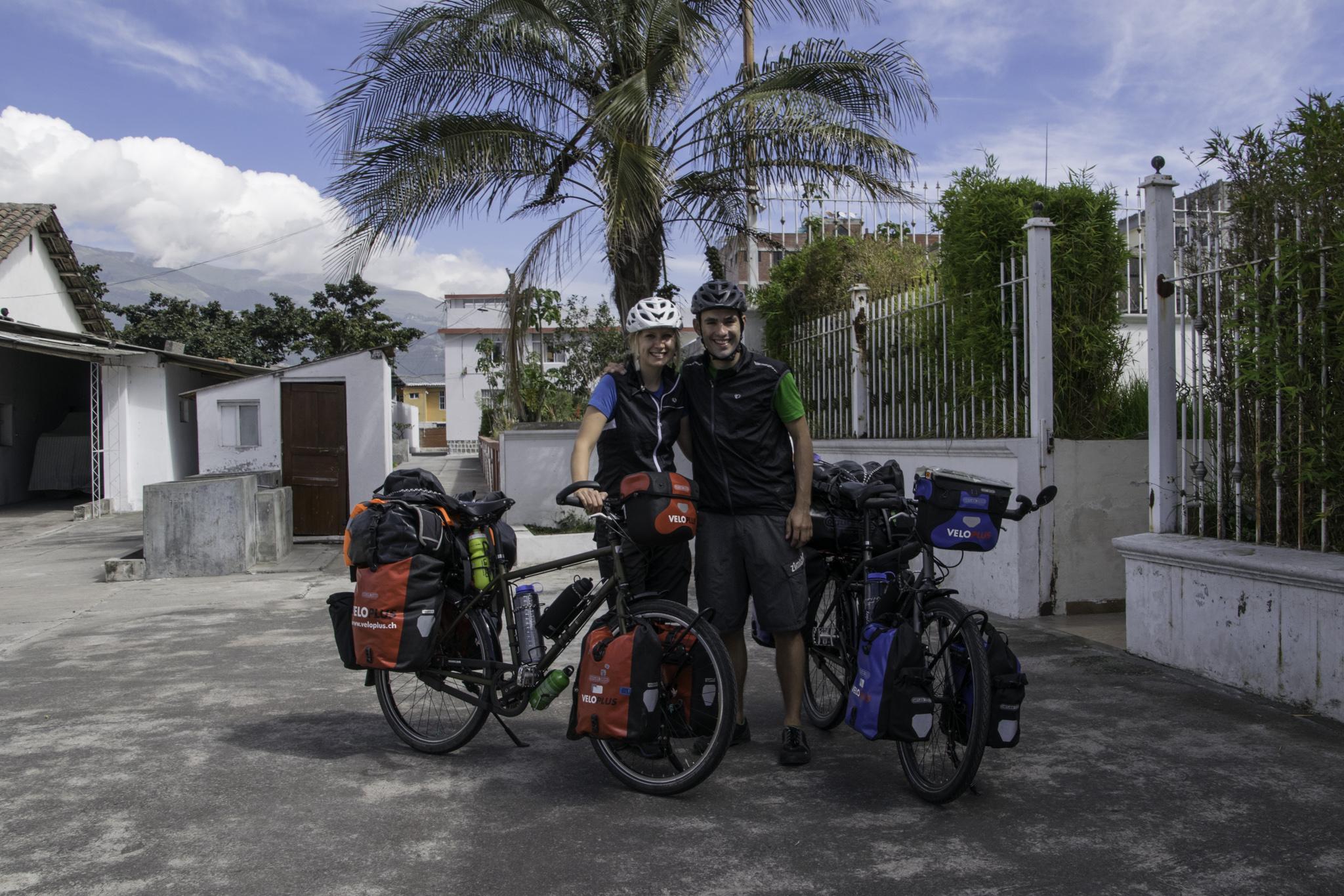 Abfahrt bei Patricia und Jorge in Quito