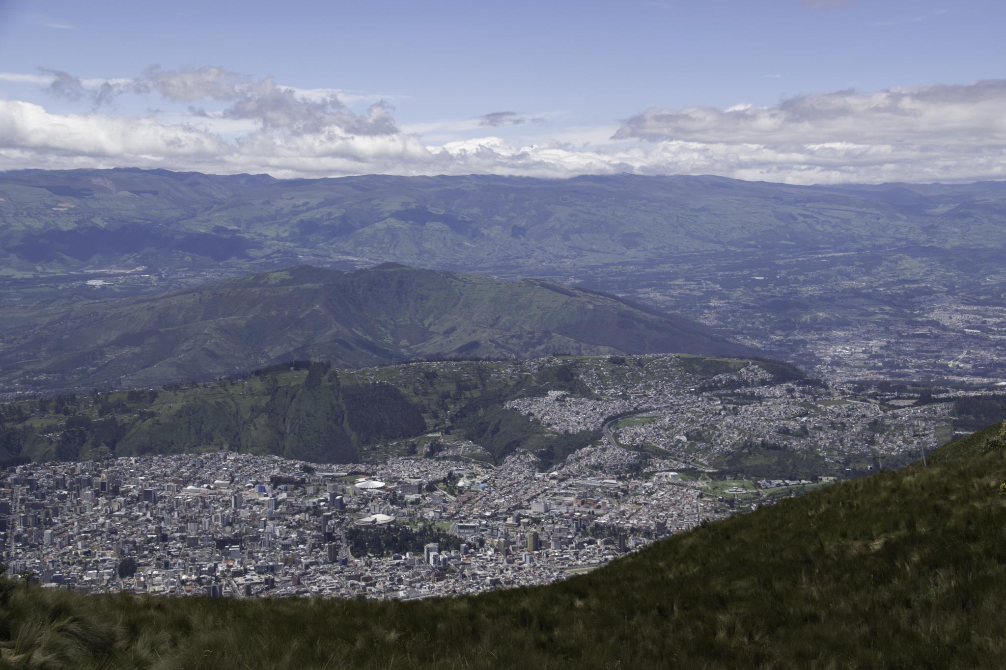 Atemraubende Aussicht von über 4100 m über Meer