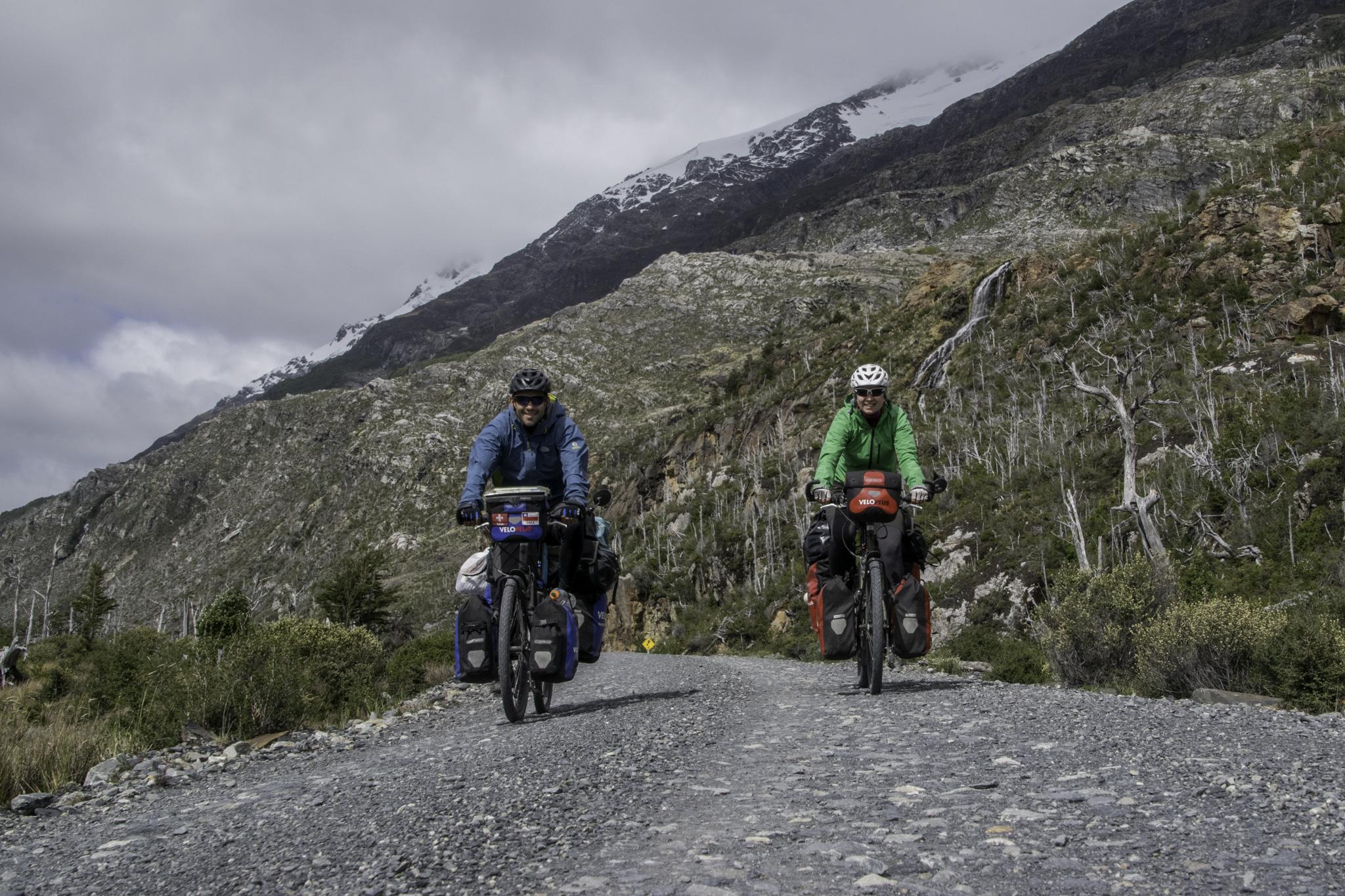 Die letzten Kilometer auf der Carretera Austral